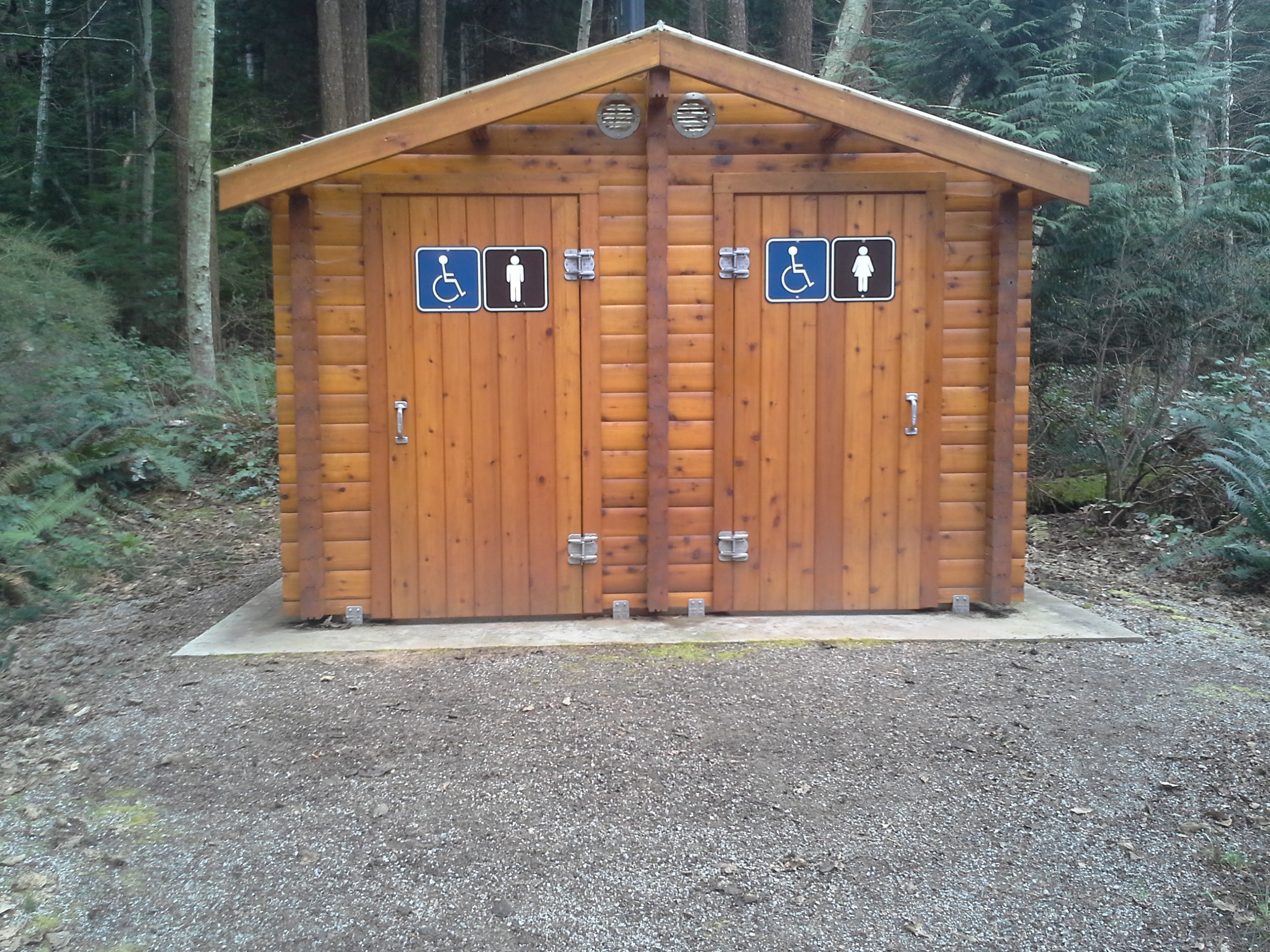 Carmanah Walbran Provincial Park outhouse project
